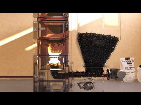 Котел для отопления частного дома на угле своими руками